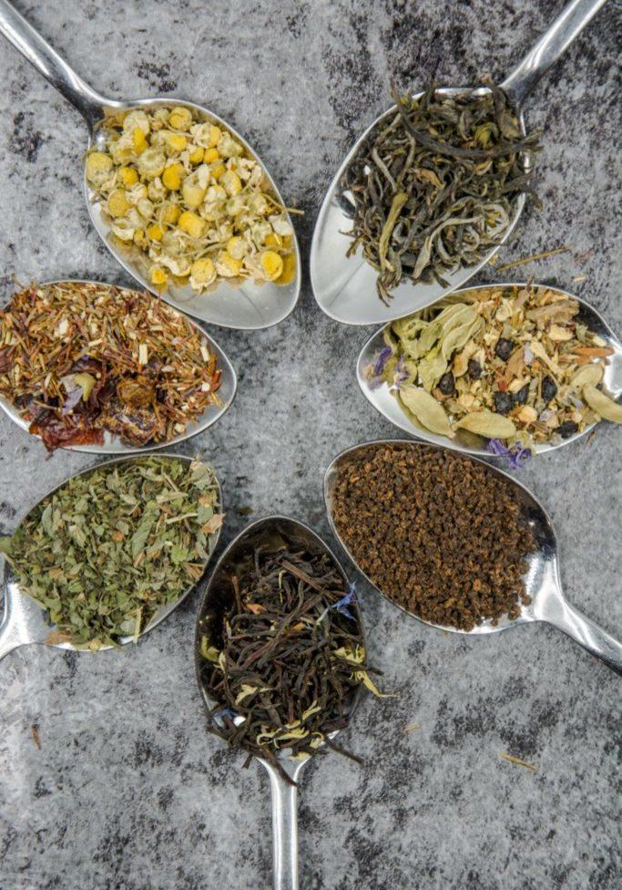 herbs spoons